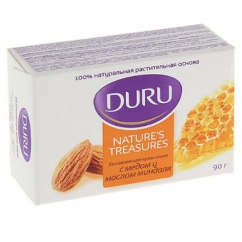 мыло туал Duru Natures Treasures Мед/миндаль 90гр/36