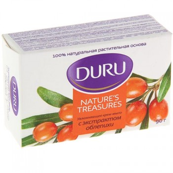 мыло туал Duru Natures Treasures Облепиха 90гр/36