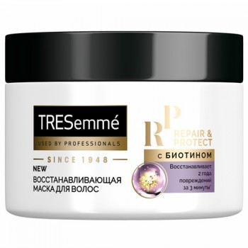 маска д/вол Tresemme Repair and Protect восстанавл банка 300мл/6